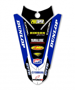 YAMAHA MOTOCROSS REAR FENDER DECAL TO FIT A YZ YZF
