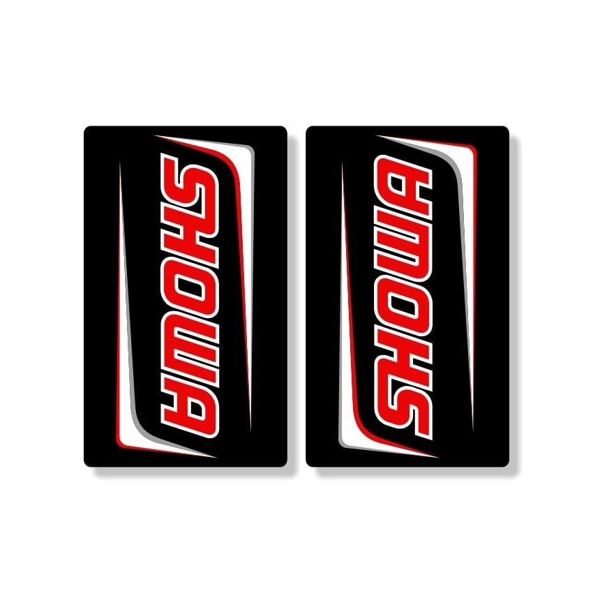 DCOR 40-80-116 Upper Forks Decal Black//Red Showa